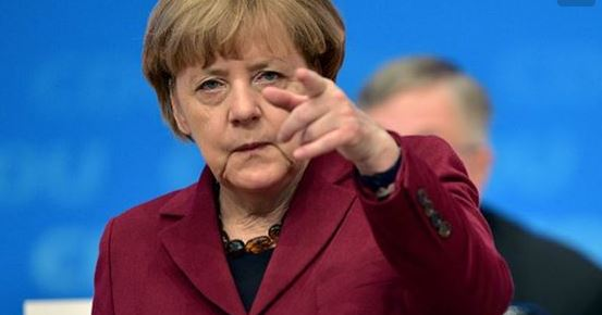 Merkel reagiert auf Trump