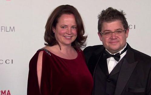 Patton Oswalt und Frau