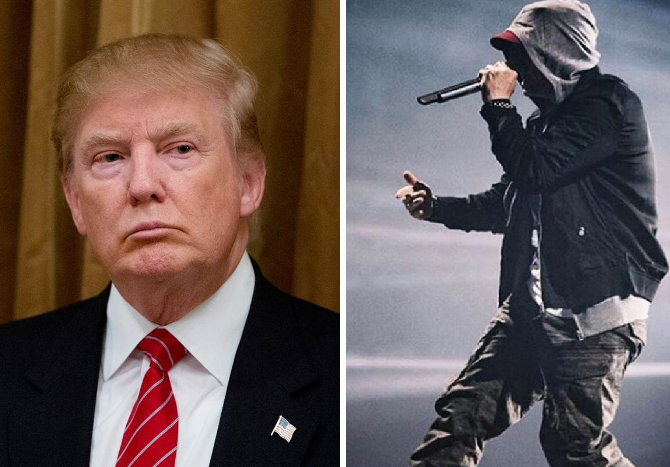 Trump vs Eminem