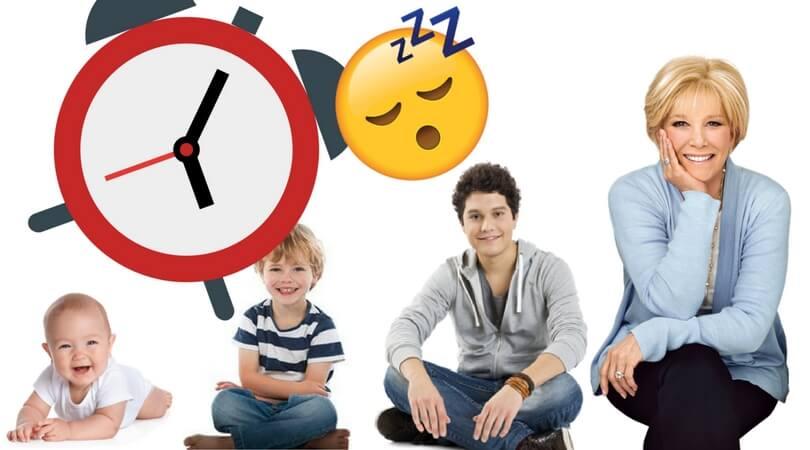 Anzahl Stunden Schlaf