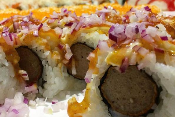frikansushi Sushi und Frikadelle