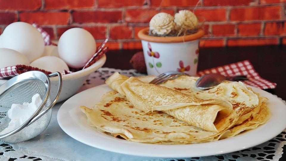 luftige Pfannkuchen