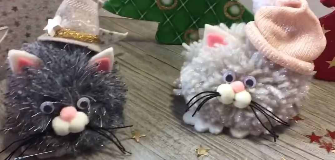 Katzen Weihnachtsschmuck