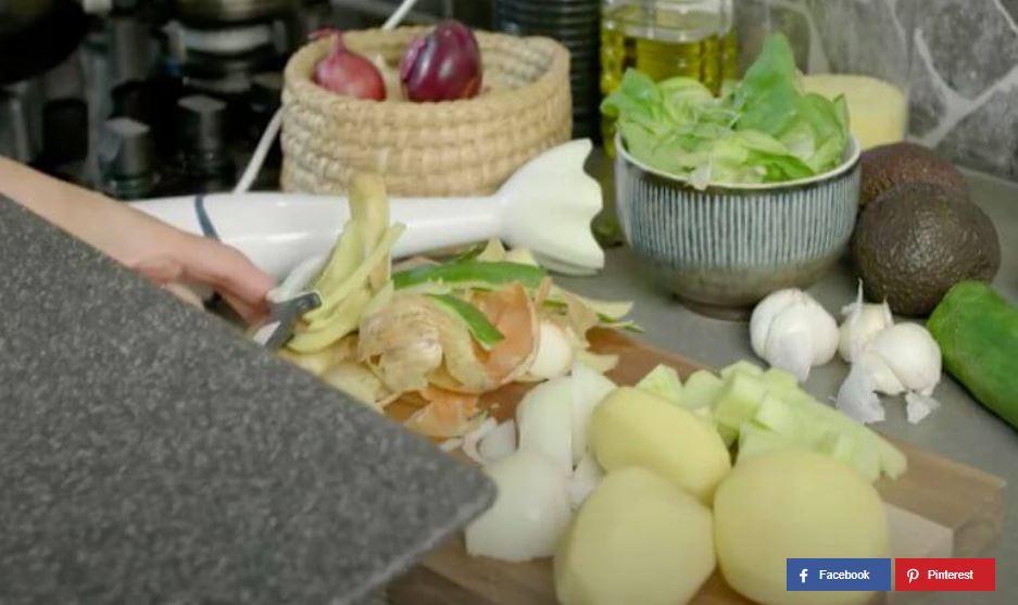 zu kleine Küche Arbeitsfläche