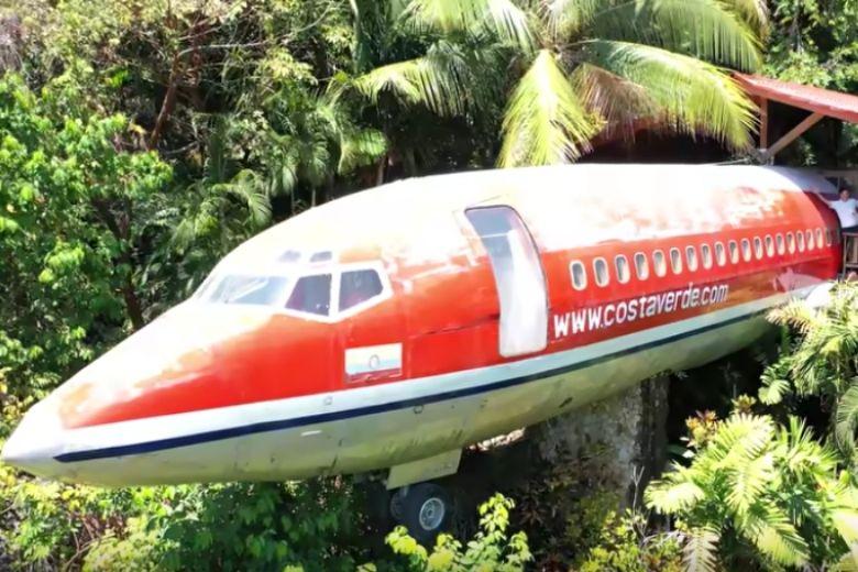 Ferienhaus Flugzeug